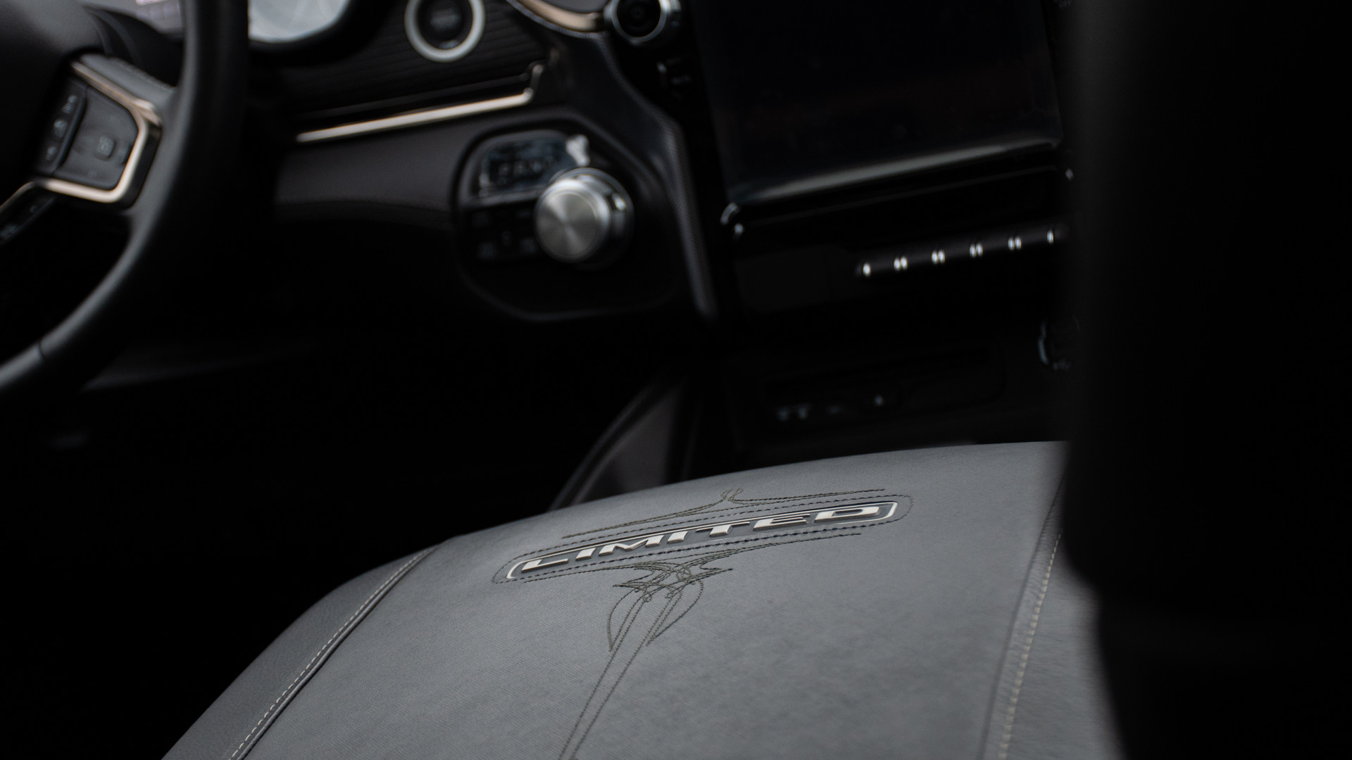 Premiumlederbezug in Schwarz